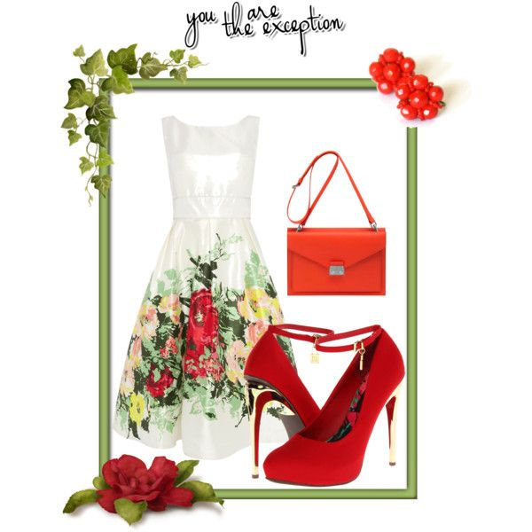 """""""Spring's flowers"""" by cristina-barberis on Polyvore"""