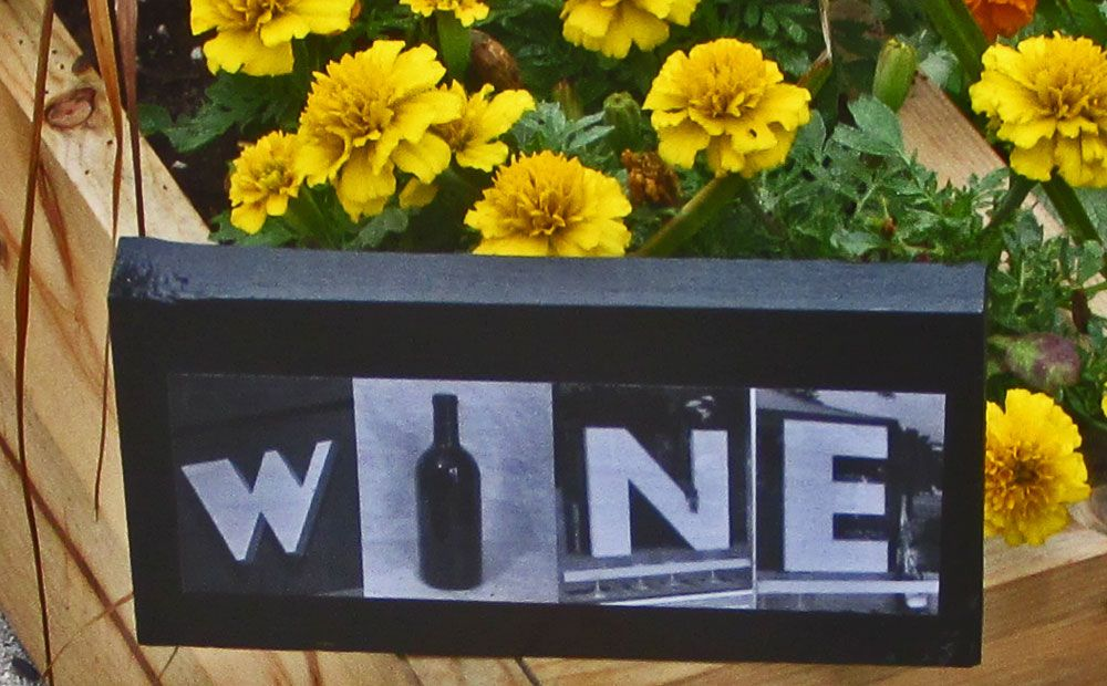 Wood Words! Wine gotta have it! $10