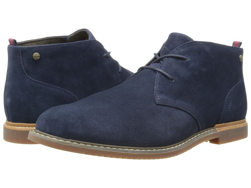 ed05e9f3629 TIMBERLAND TIMBERLAND - EARTHKEEPERS(R) BROOK PARK CHUKKA (NAVY SUEDE)  MEN S LACE-UP BOOTS.  timberland  shoes