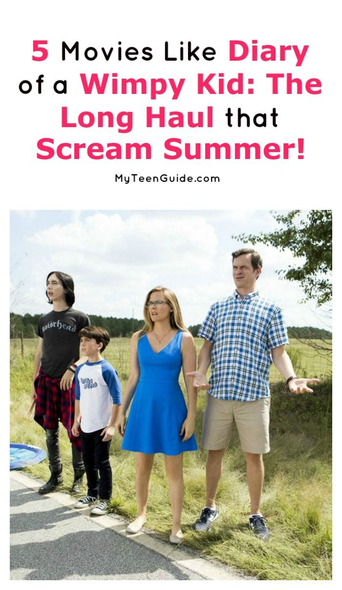 5 Movies Like Diary of a Wimpy Kid: The Long Haul That Scream Summer ...
