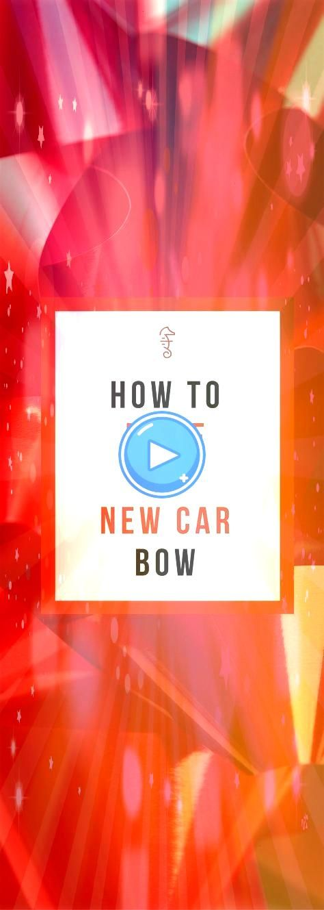 How to Put a Big Dumb Red Ribbon on a Used Car Like the Christmas Commercials diy How to Put a Big Dumb Red Ribbon on a Used Car Like the Christmas Commercials diy This e...