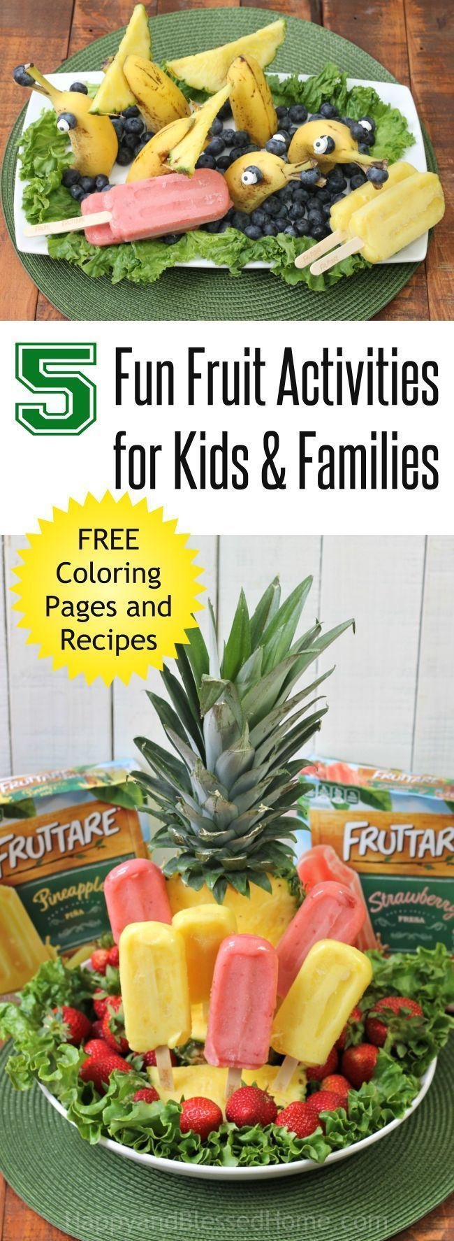 fun fruit activities for families cooking with kids pinterest