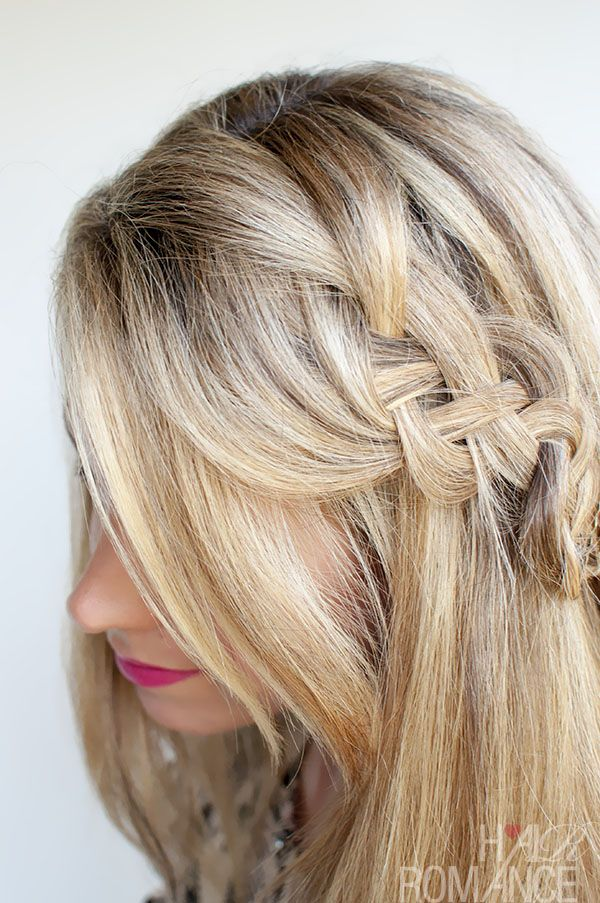 Hairstyle Tutorial Four Strand Braids And Slide Up Braids