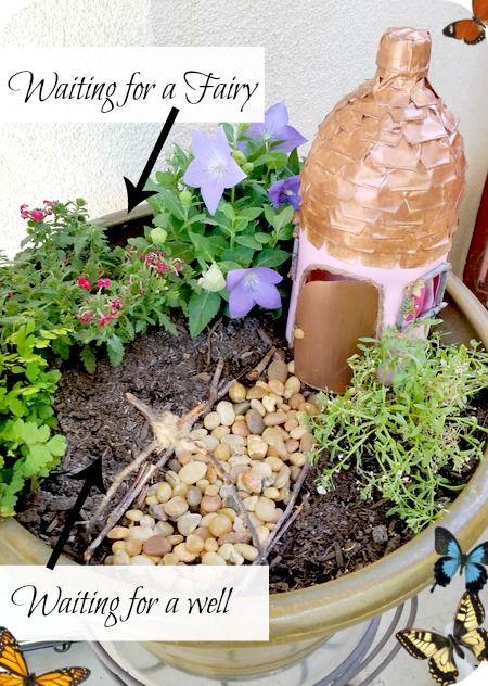 Soda Bottle Fairy Garden House - Fun Kid-Friendly Recycle Craft ...