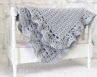 bd313af721720 Crochet Baby PATTERN, Baby Blanket Crochet Pattern Freesia 143 ...