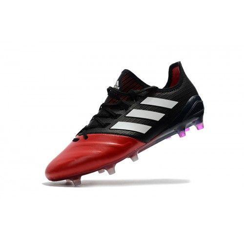 san francisco 2124d bc541 Zapatos De  soccer Comprar Adidas Ace 17.1 Primeknit Leather FG Hombre Rojo  Negro Online