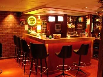 Ehbp 02 Basic L Shaped Home Bar Home Bar Plans Home Bar Designs Bar Plans