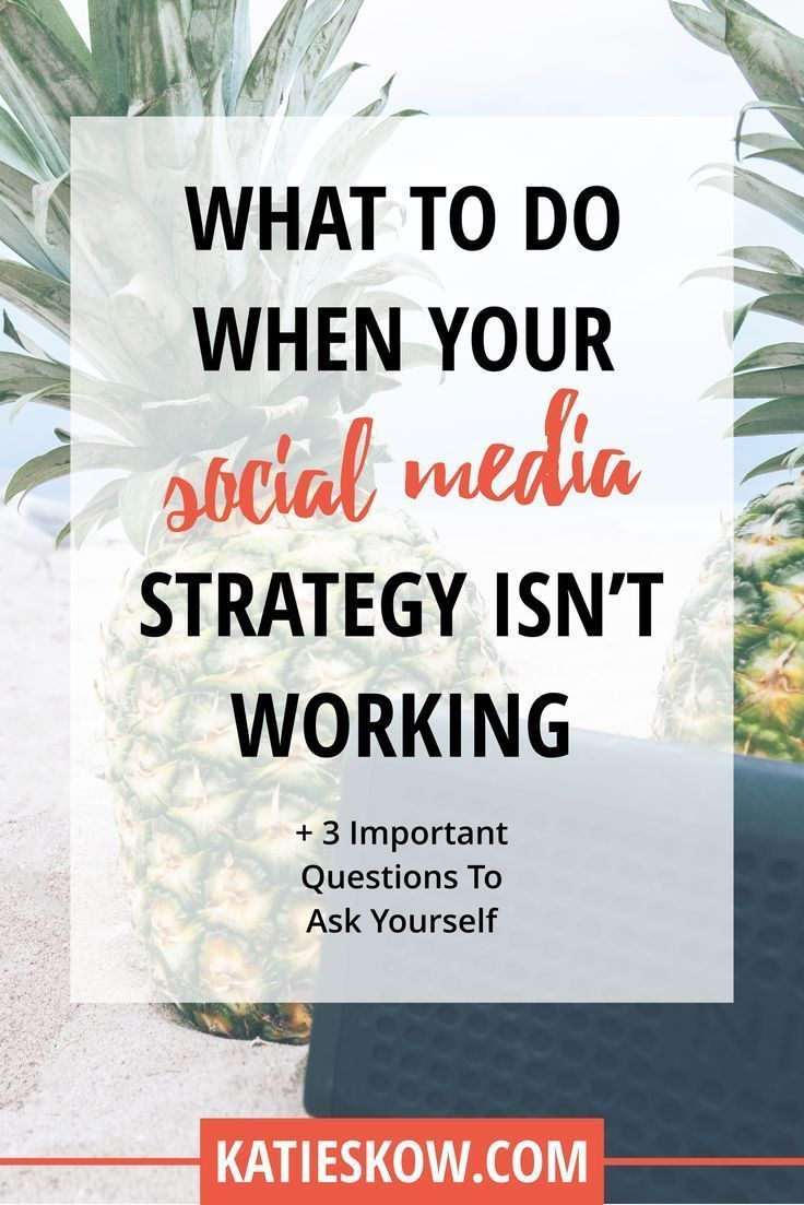 When you don't feel like your social media is working, it's time to take a step back and figure out why. Take a deep breath and stop worrying. There's a reason, so I'm going to give you some tips that will help you find out why. Once you have a why, it's easy to make changes accordingly and test. The following elements will help to guide your social media in the right direction: Setting a goal Creating a strategy to reach the goal Implementation