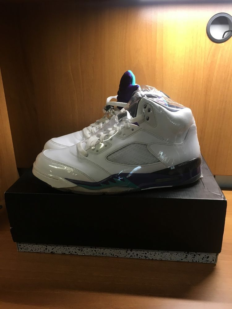 6d706089cf47 Air Jordan Retro 5 Grape Size 11  fashion  clothing  shoes  accessories   mensshoes  athleticshoes (ebay link)