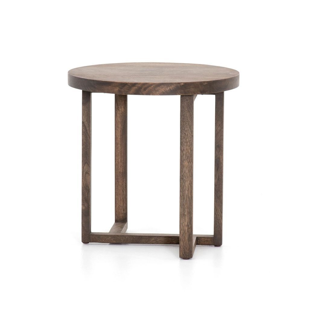 Auburn End Table In Aged Brown End Tables Home Decor Diy Home Decor