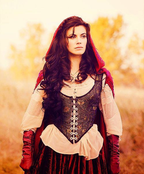 Red Riding Hood- (Ruby) from Once upon a Time Loving the outfit - halloween movie ideas
