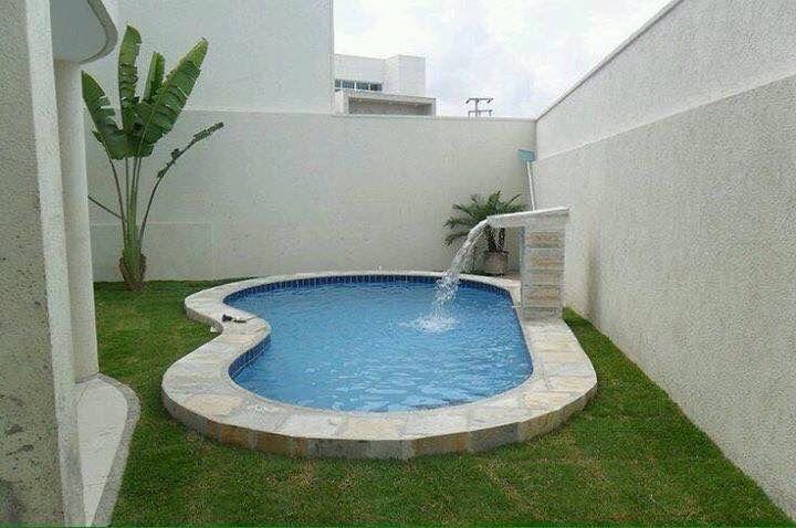 Fuente minimalista pool adjustment pinterest patio for Albercas de patio