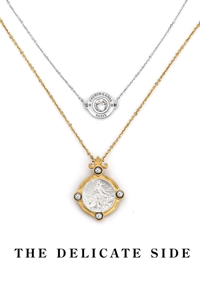 SWAROVSKI ANNECY NECKLACE SILVER | Silver necklaces, Necklace ...