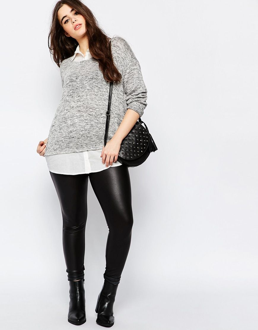 Image of new look inspire blouse in sweater sized