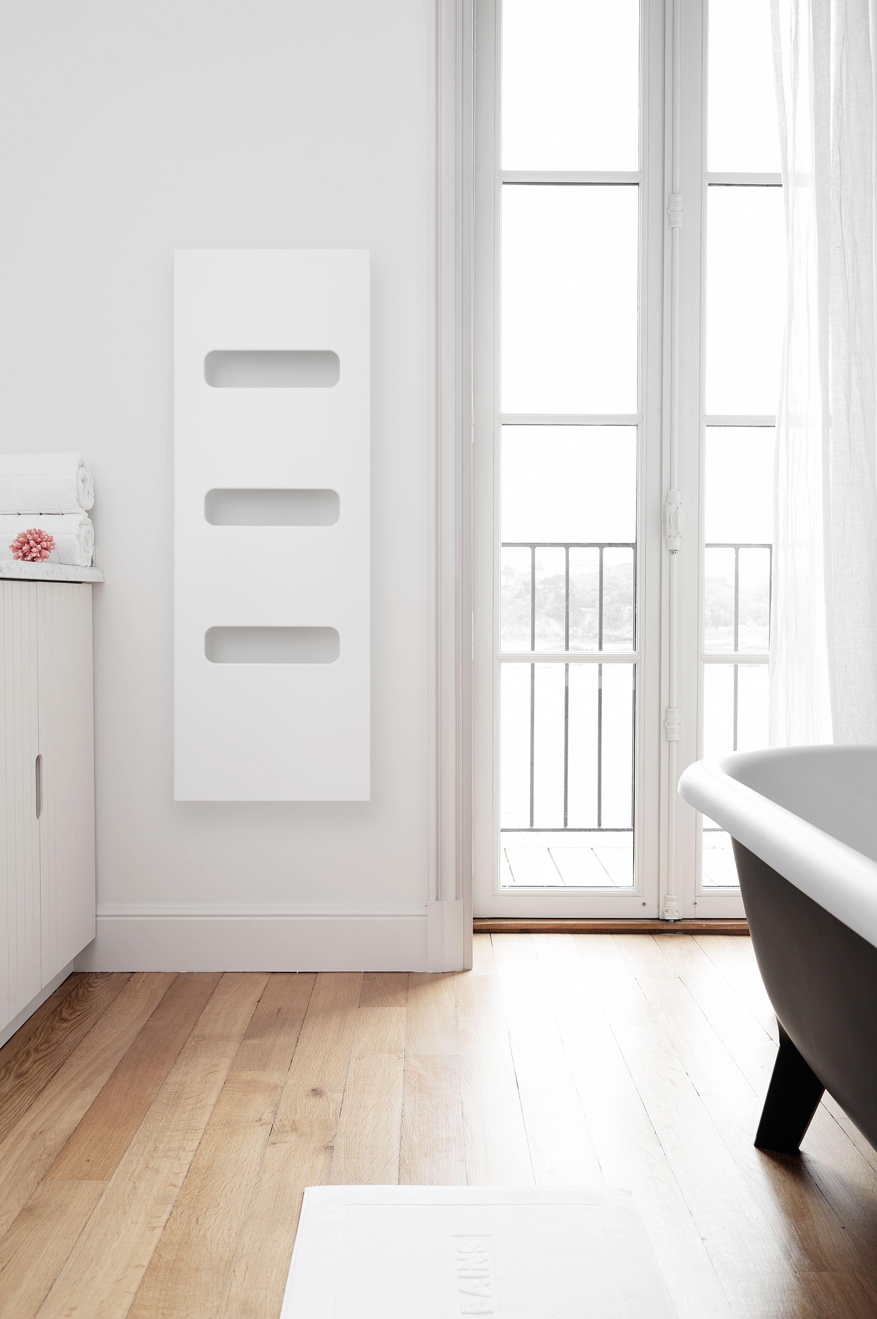 Radiateur Campastyle Elite Design blanc en acier. www.campa.fr ...