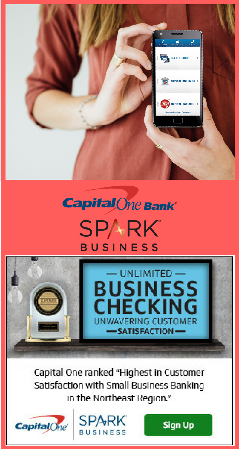 Try capital one spark business checking and pay no monthly fees try capital one spark business checking and pay no monthly fees its ranked as one reheart Image collections