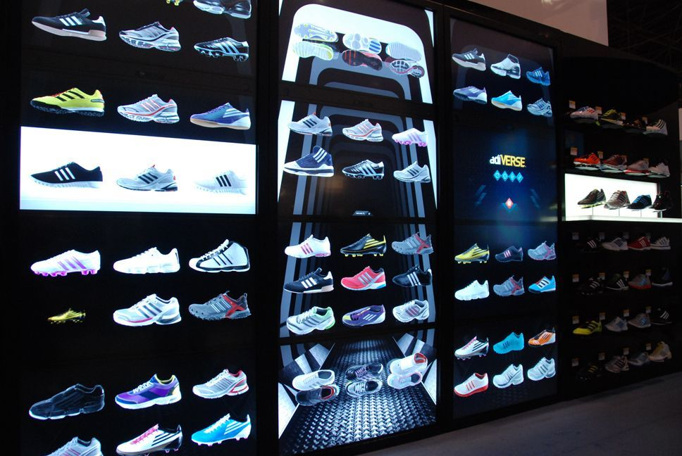 Adidas Integrating Endless Aisle Technology That Allows Consumers To Browse Research And Purchase With Co Interactive Retail Digital Retail Digital Signage