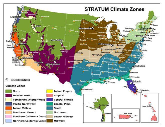 Climate Map Of Usa Climate map usa | Climate zones, Climates, City pages