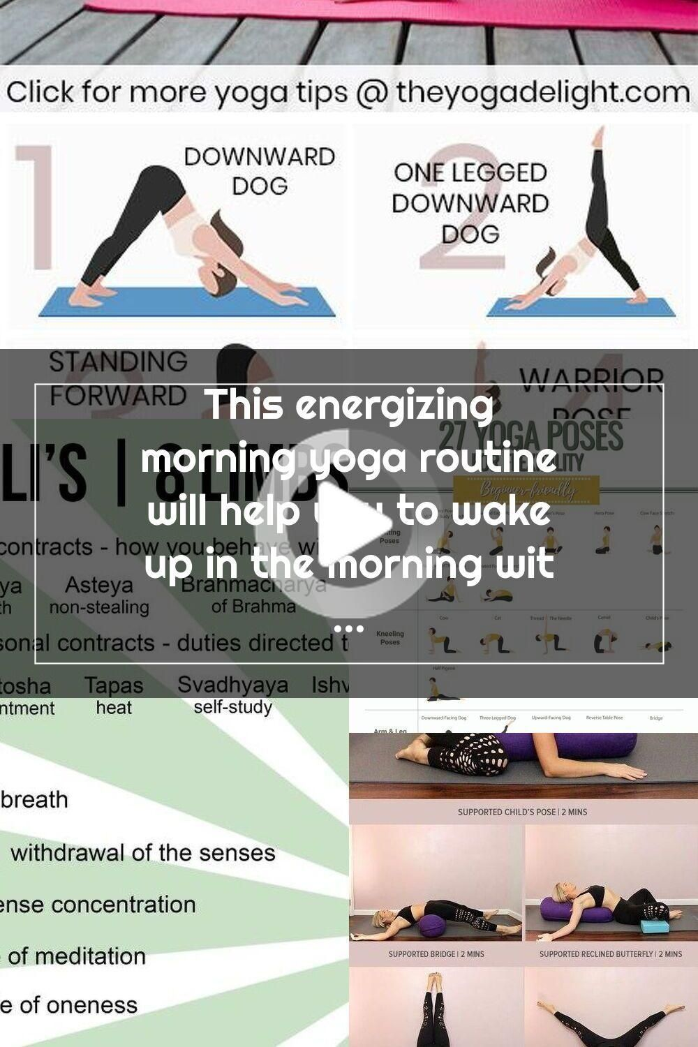 This energizing morning yoga routine will help you to wake up in the morning without feeling