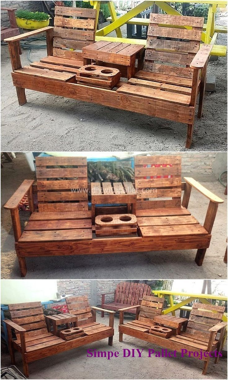 15 Incredible Do It Yourself Pallet Ideas 2 Pallet Rake Pallet Decor Diy Pallet Furniture Pallet Furniture Designs