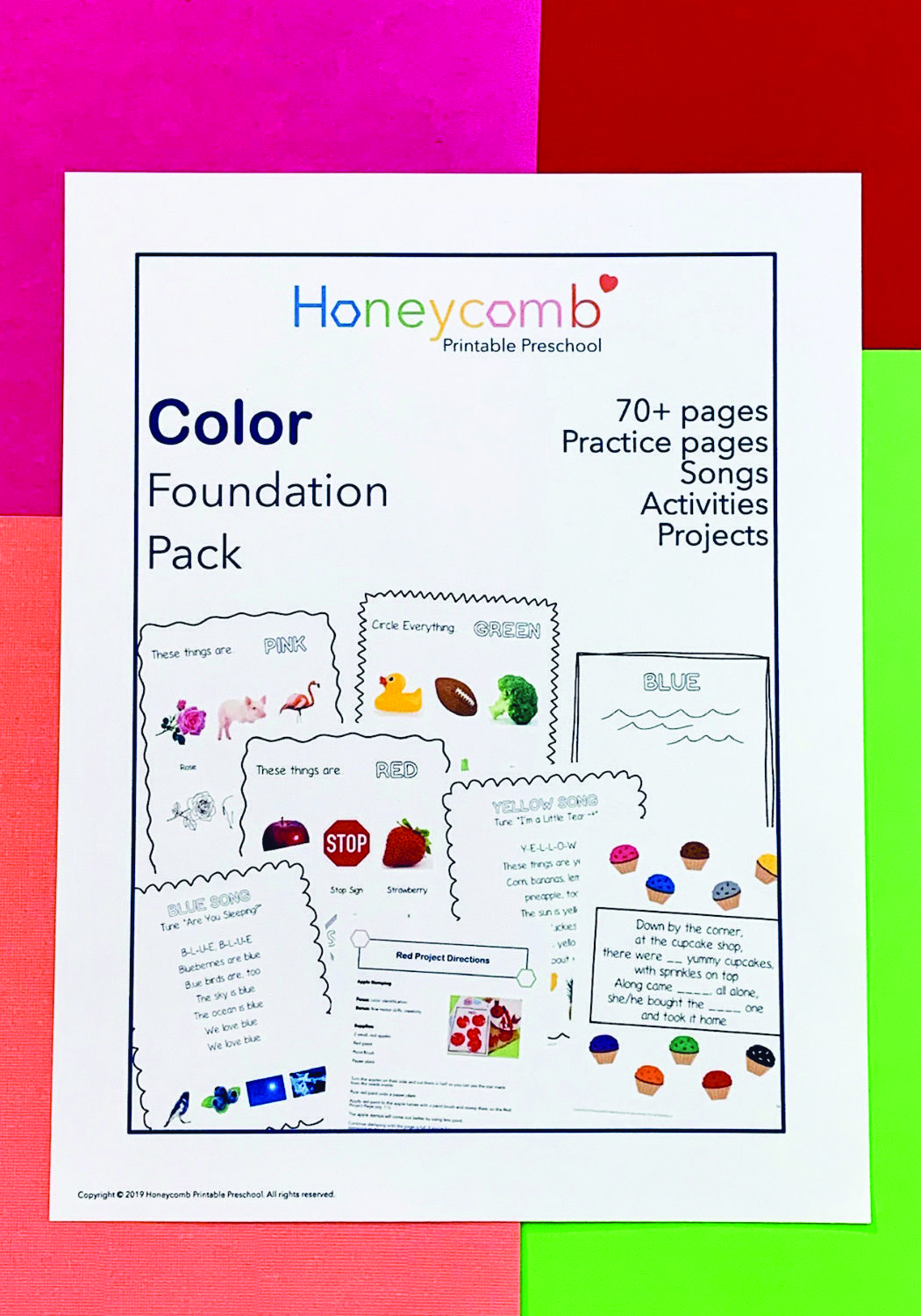 Foundation Color Pack
