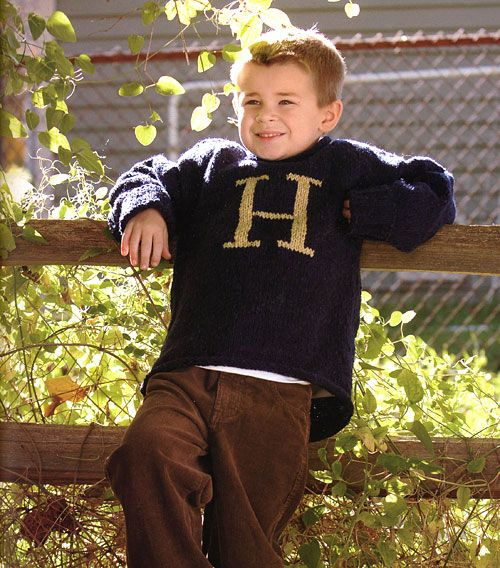 Weasley Sweater | Community Post: 19 Nerdy Knits You Need To Knit Right Now