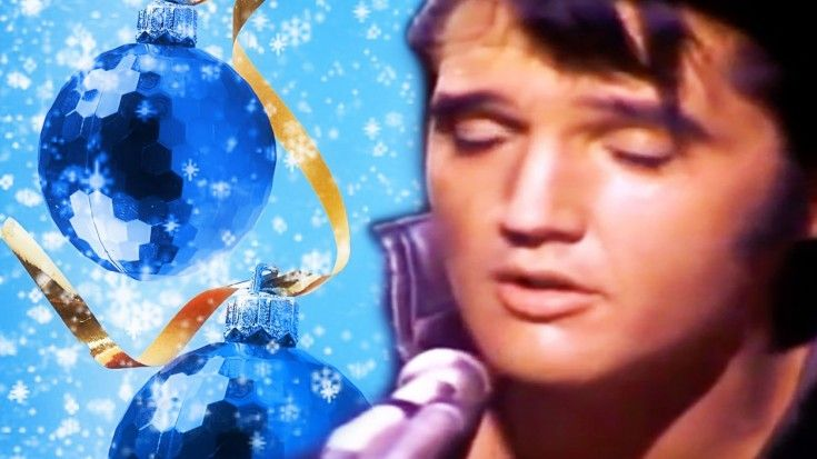 elvis presleys 68 blue christmas performance will give you christmas chills
