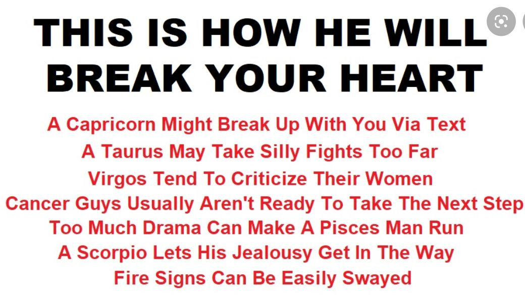 Will a pisces man come back after a break up