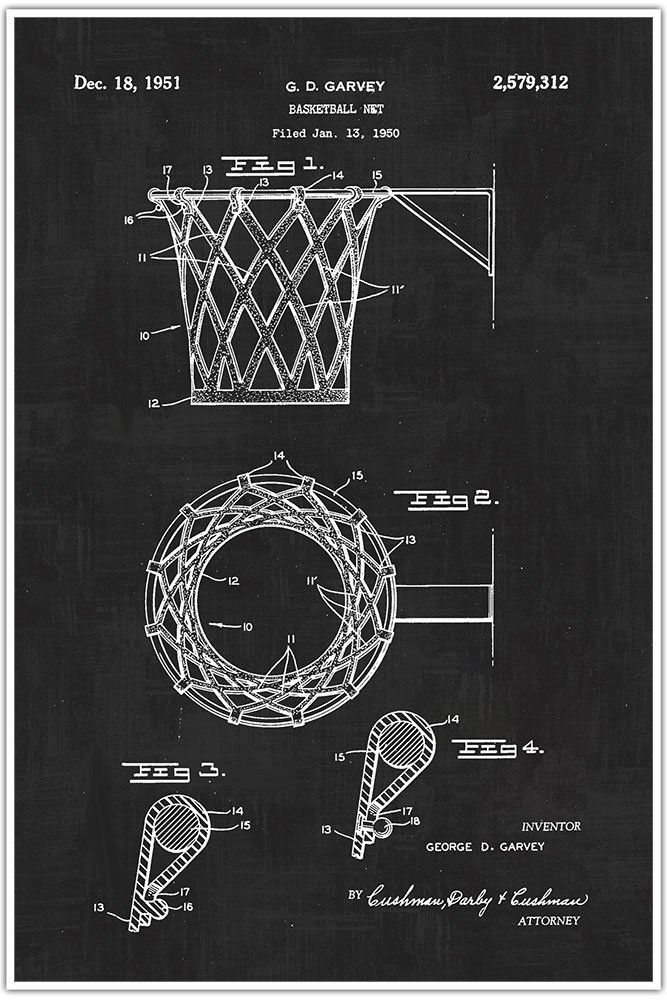Basketball net sports blueprint patent patent poster blueprint basketball net sports blueprint patent patent poster blueprint poster art malvernweather Choice Image