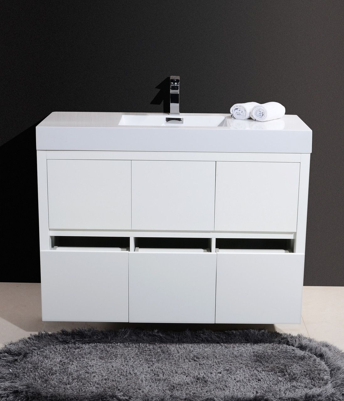 The Bliss Is One Of The Most Elegant Modern Bathroom Vanities Around - 48 inch modern bathroom vanity