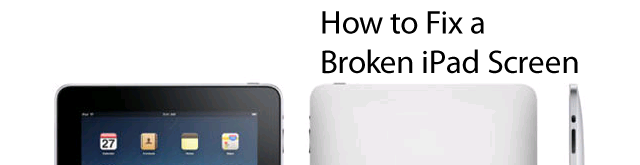 How to Fix a Broken iPad Screen almost the same as a kindle fire hd
