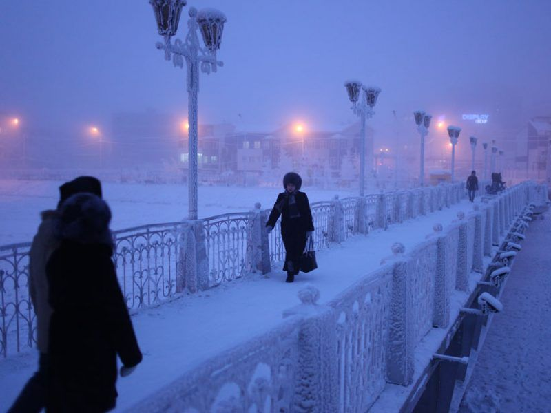 Residents of Yakutsk in northeastern Siberia during a cold snap | Yakutsk,  Coldest city on earth, Russia