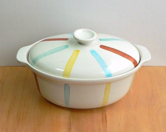 Vintage Casserole Dish: $26