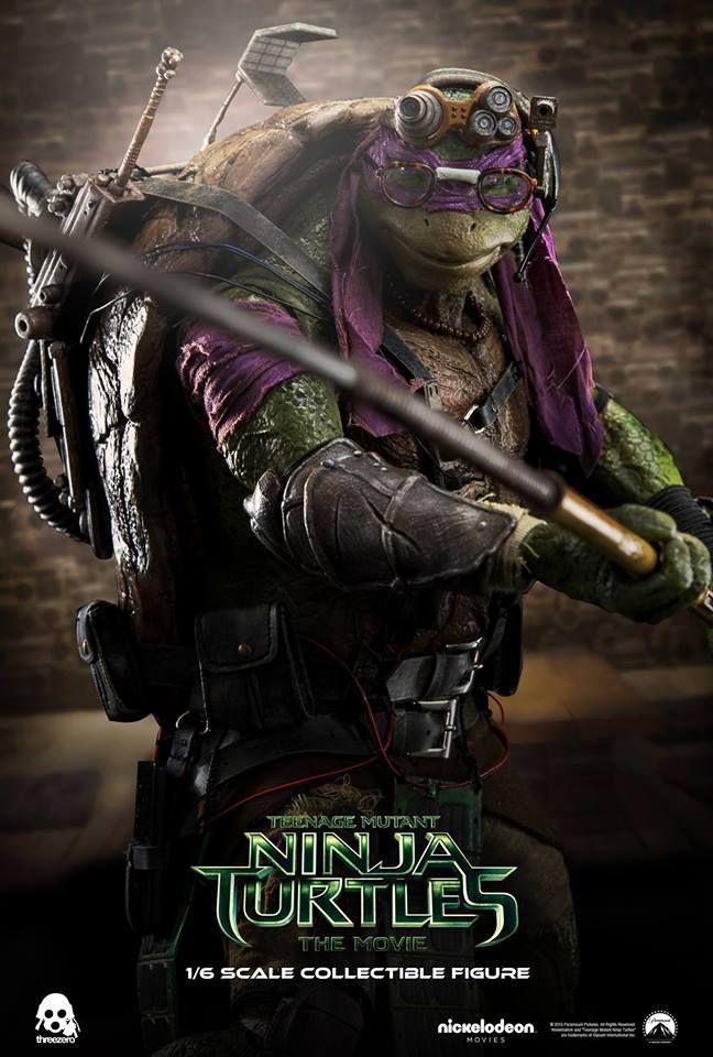 Threezero: Donatello - Teenage Mutant Ninja Turtles - Sixth Scale ...