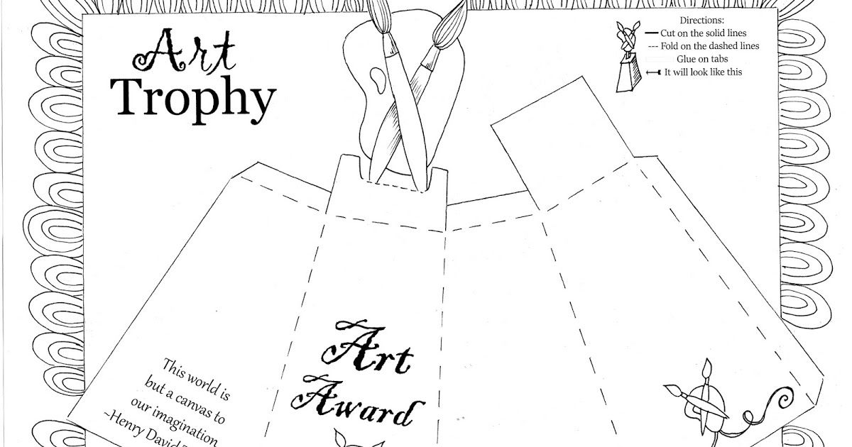 Time for Awards! DIY Updated Award Certificate, print on