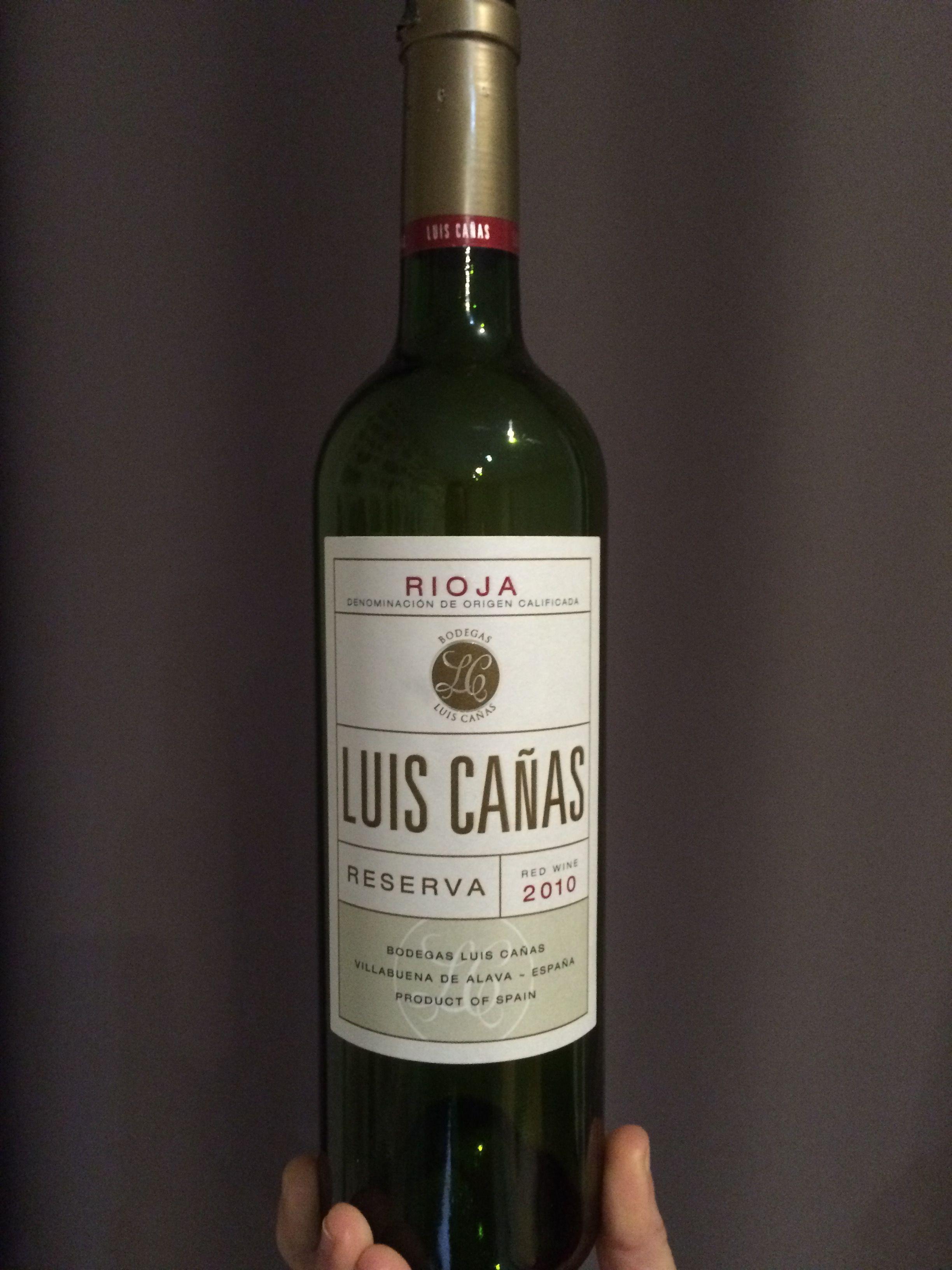 Luis Cañas Reserva 2010 Canas Luis