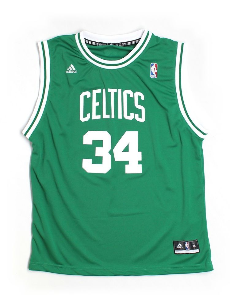 the best attitude c059c 61952 Youth Boy Boston Celtics Paul Pierce #34 Basketball Jersey ...