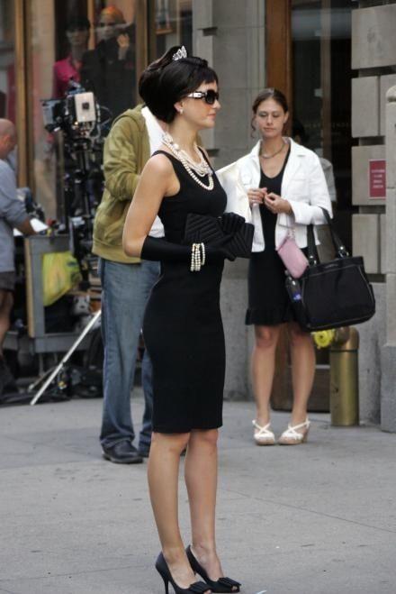 Calvin Klein dress. Prada shoes. Fendi sunglasses. Chanel necklaces ... 409e0764be4cb