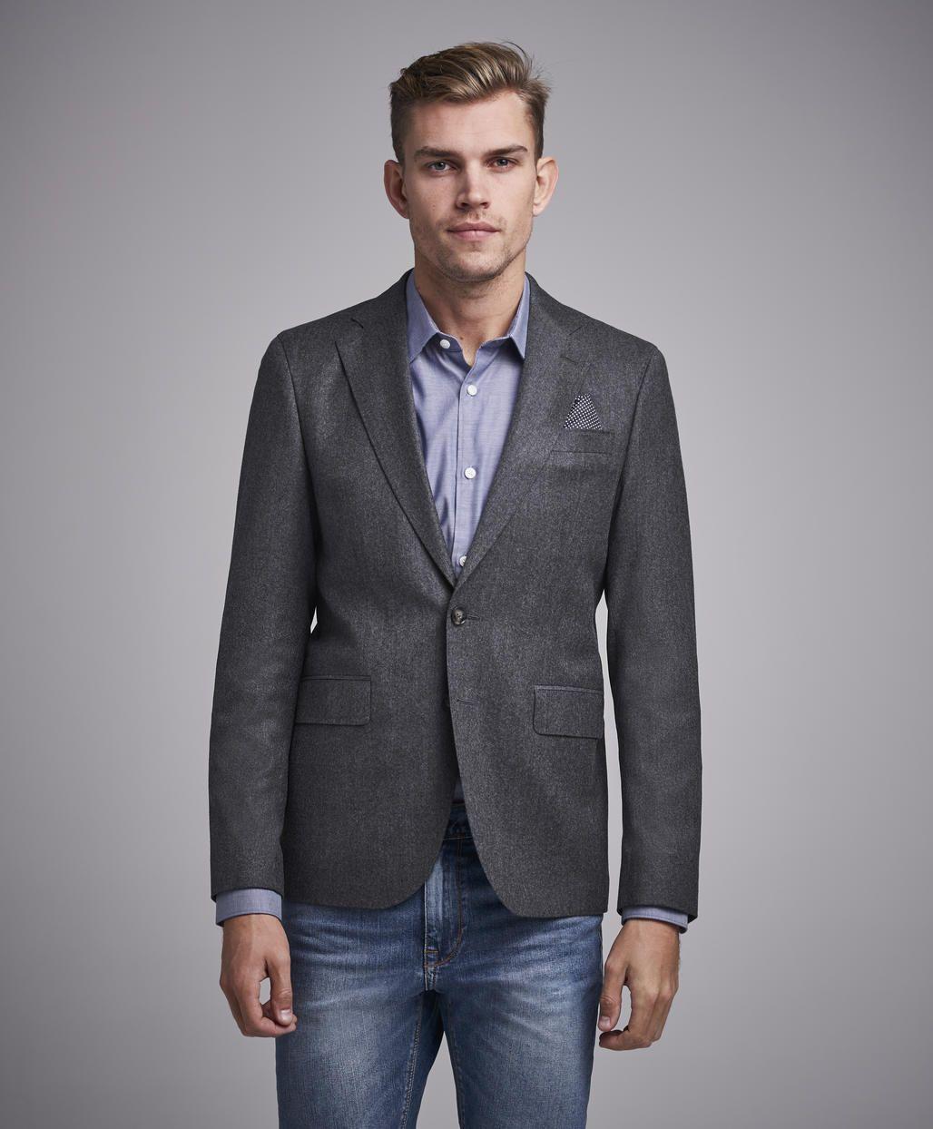 e332f373 Star Napoli 170 Mid Grey | Fashion | Klær, Grå og Dressjakke