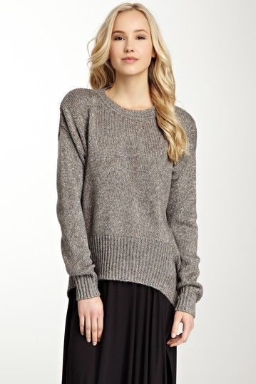 Sunday afternoon | Seven Times Seven Seamed Draped Sweater