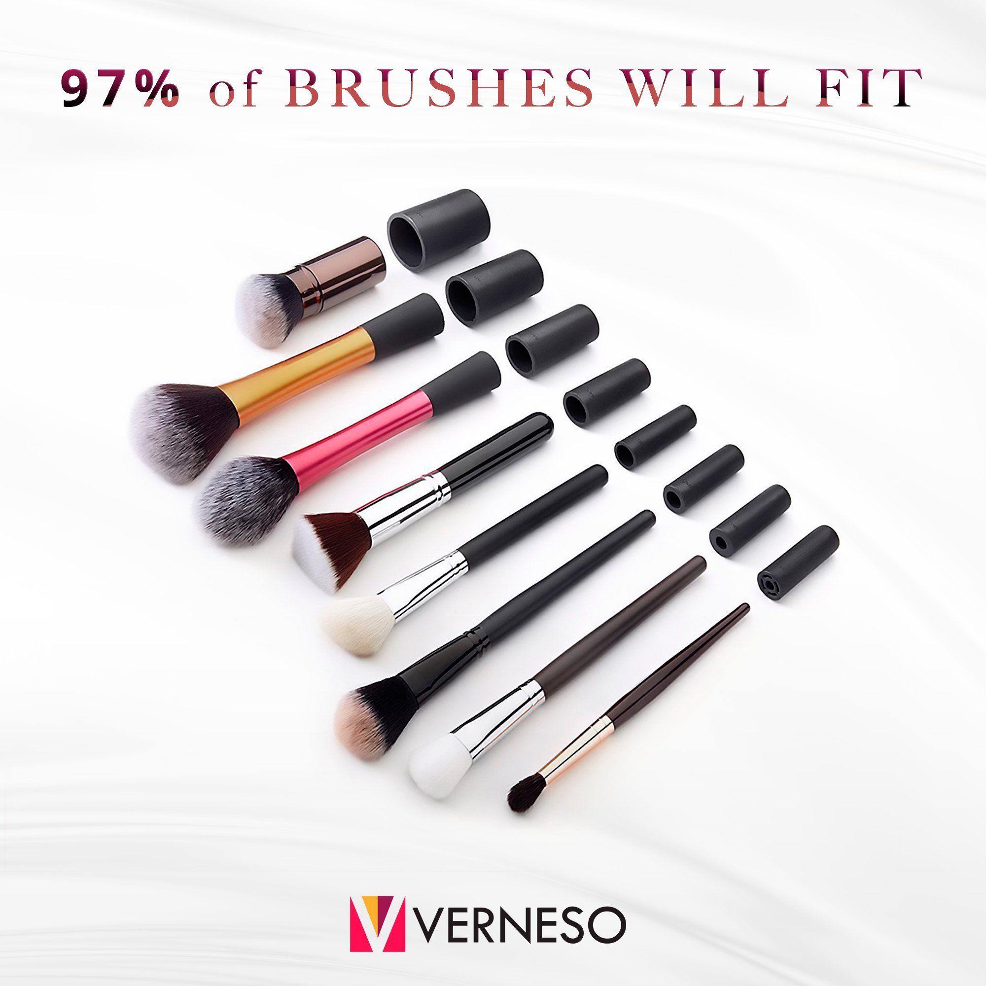 Makeup Brush Cleaner and Dryer – For All Size Cosmetic