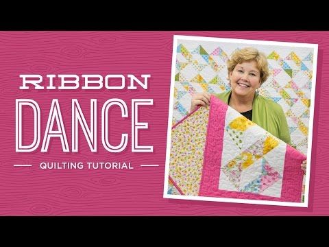 Learn To Make The Ribbon Dance Quilt With Jenny Missouri Star Quilt Company Missouri Star Quilt Company Missouri Star Quilt Company Tutorials Ribbon Quilt