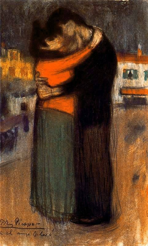 The Embrace in the Street, 1900 Pablo Picasso