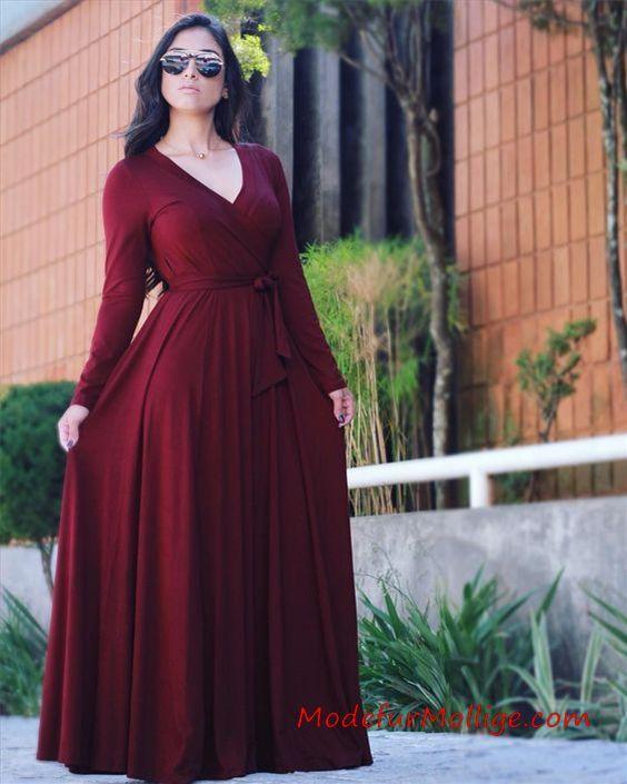 22 Langarm Kleider die Sie im Winter Tragen Können ...