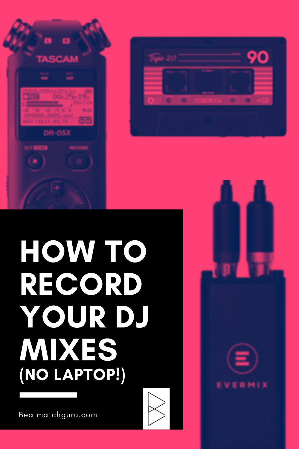 How To Record Your Dj Mixes Without A Laptop In 2020 Dj Records Learn Music