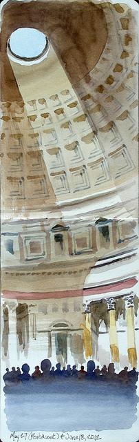 Pantheon - Roma, Italia by mtbrehm, via Flickr