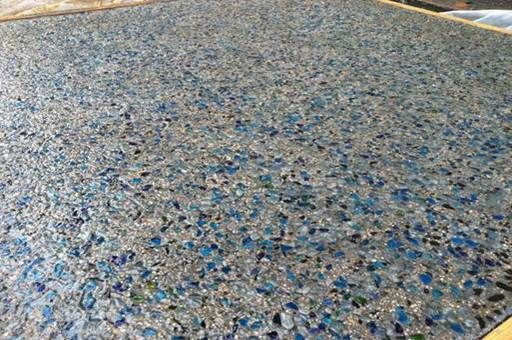 Glass Seeded Exposed Aggregate Concrete Aggregate Concrete Exposed Aggregate Concrete Concrete