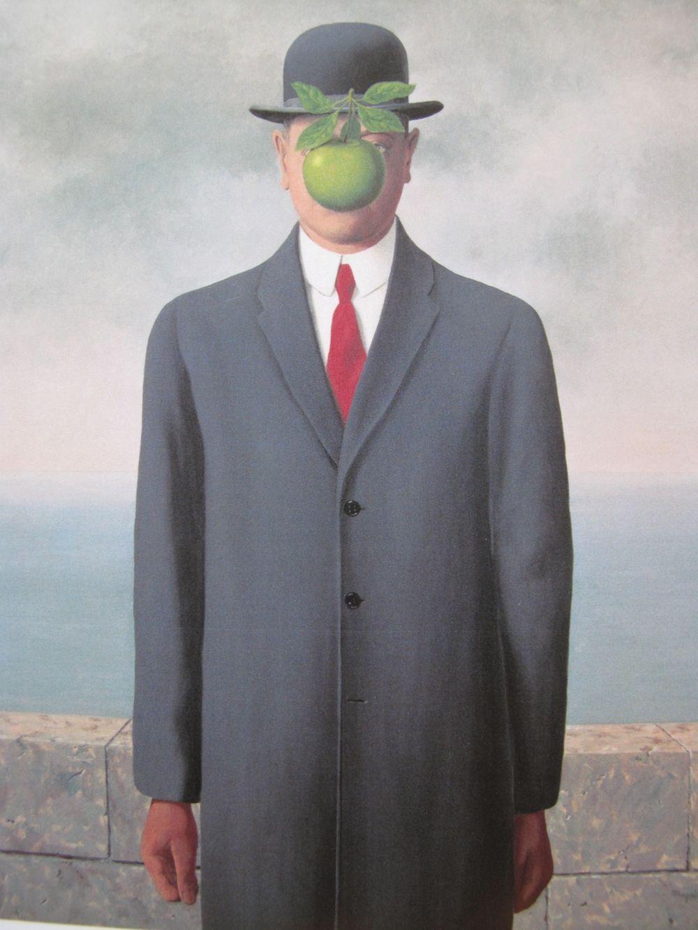 マグリット 人の子 シュルレアリスム 超現実主義 ルネ マグリット 美術史 有名な芸術