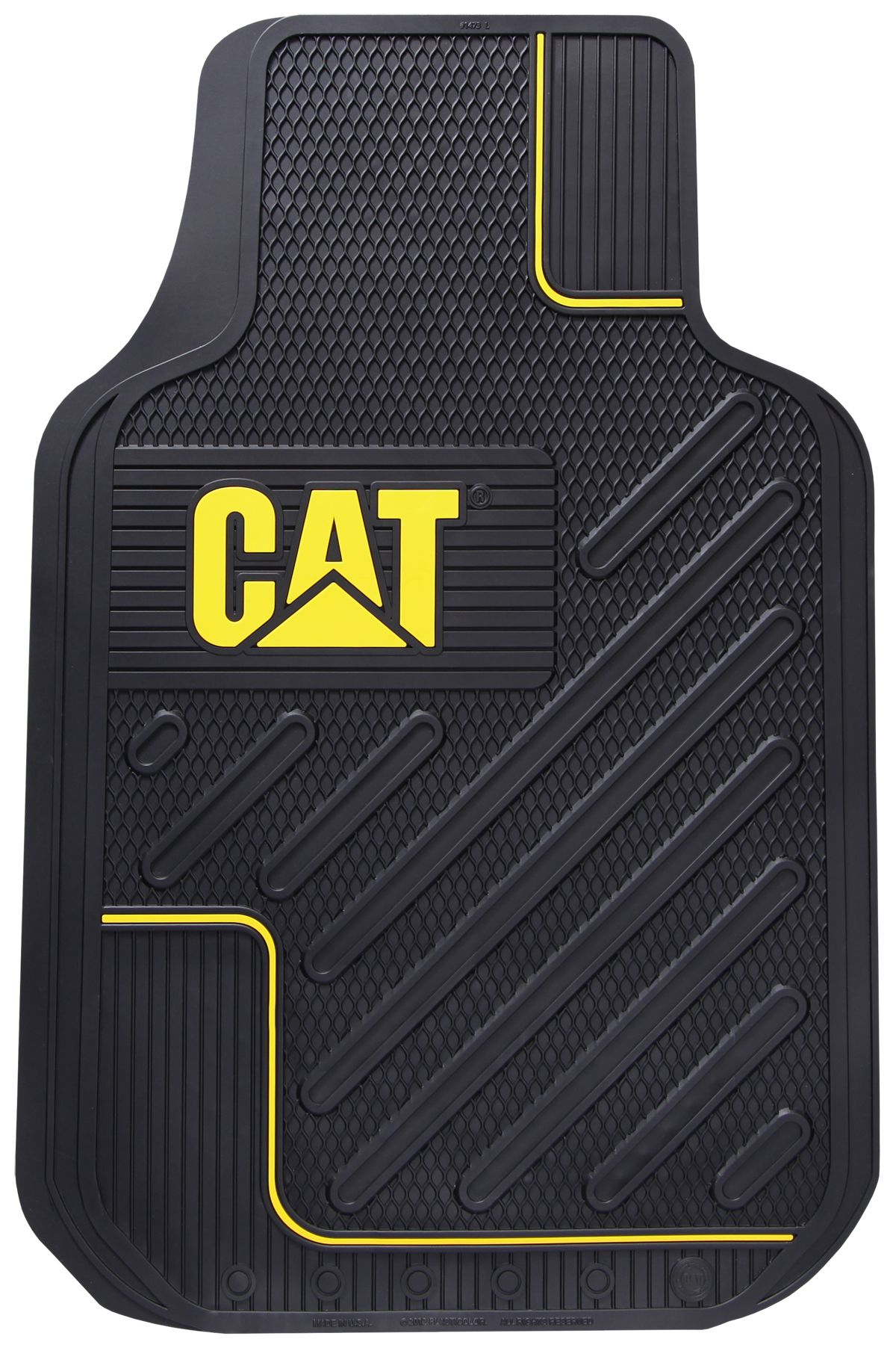f393d74da CAT Merchandise - Caterpillar Merchandise - Caterpillar CAT All Weather  Rubber Vinyl Front Floor Mats