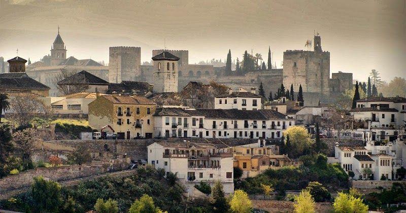 Pontos turisticos em Granada #viagem #barcelona #espanha
